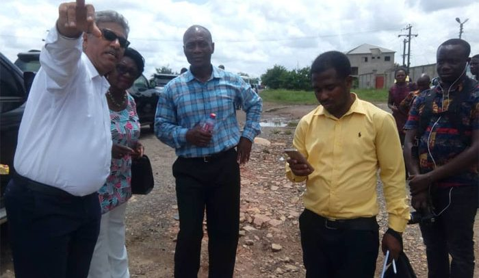 Tema-Mpakadan Railway Project: 40 Houses Risk Demolition