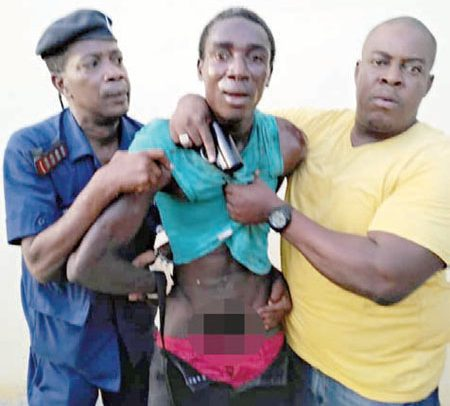 Naked Thief Arrested In Minister's House