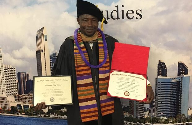 Physically Challenged Grabs Doctorate Degree