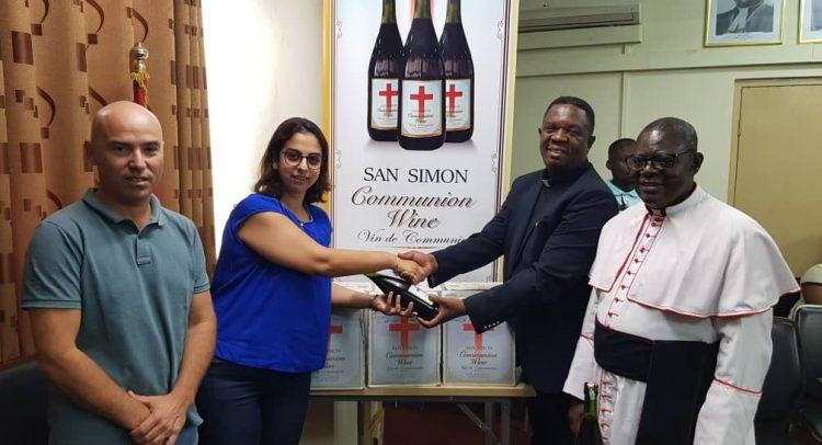 Marina Distribution Donates San Simon Communion Wine To Christian Council