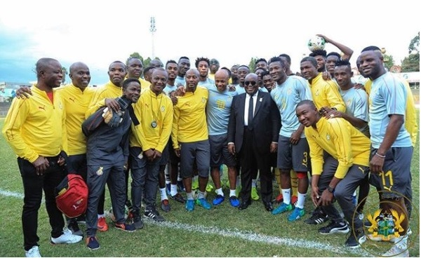 Prez, Minister Charge Stars … As They Battle Benin Tomorrow