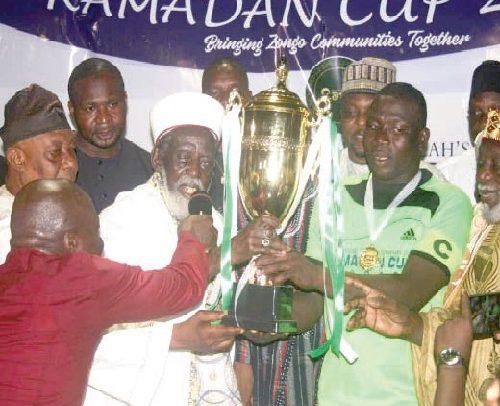 Nima Lifts 5th Ramadan Cup