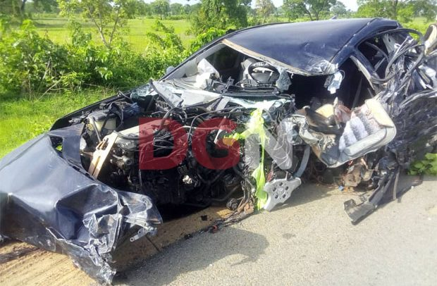 3 DCEs In Critical Condition After Car Crash