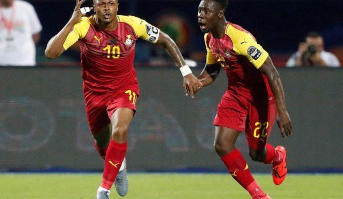 Dede Is Ghana AFCON Top Scorer