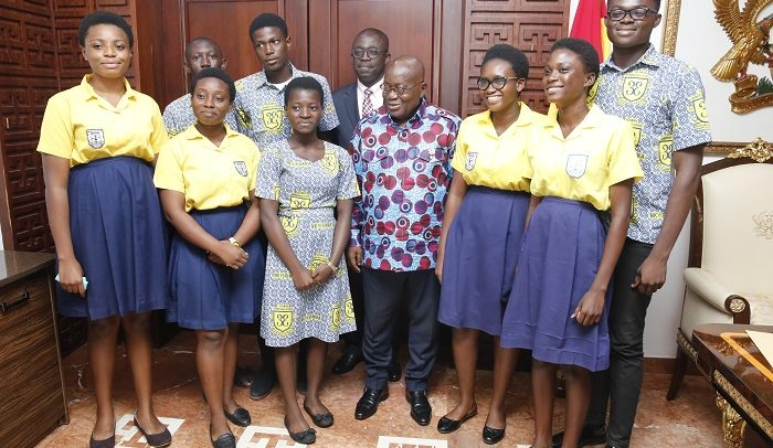 You Can Do More –President Tells Students