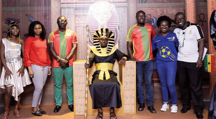 Visa Ghana Throws AFCON Party