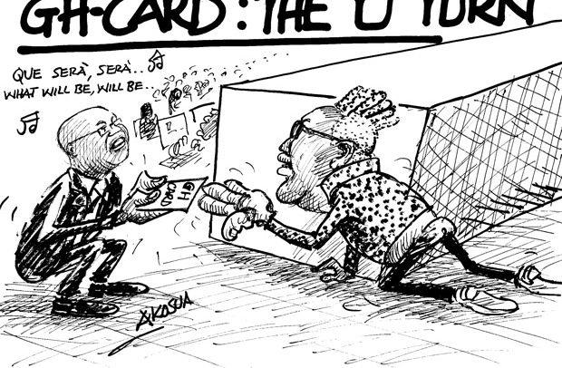 GH-CARD: THE 'U' TURN