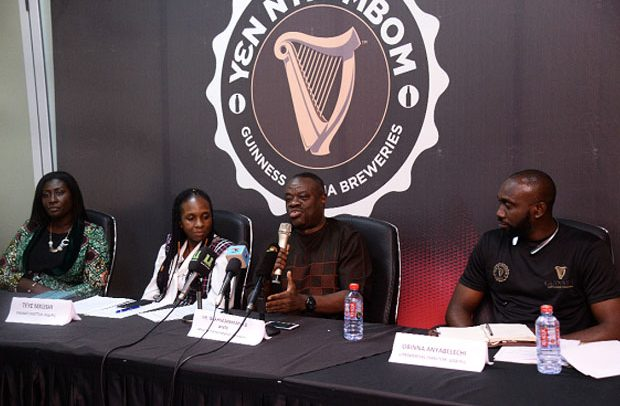 Guinness Ghana Launches 'Y?nNyinMbom'