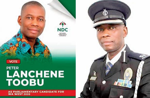 IGP's NDC Boy Shocks Police