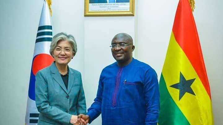 Korea's Foreign Minister Visits Bawumia