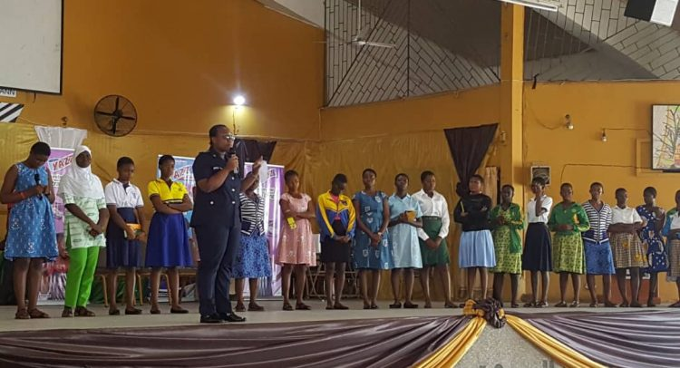 Accra Police Educate Students On Kidnapping, Defilement