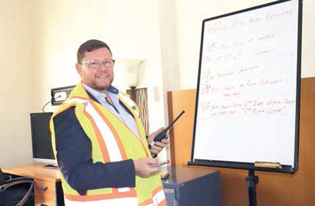 Movenpick Trains Security On Fire Safety