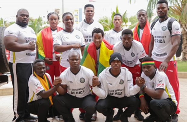 Golden Arms Bags 18 Medals …From Africa Championship
