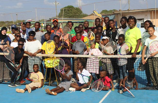 Tennis In Africa Holds Clinic