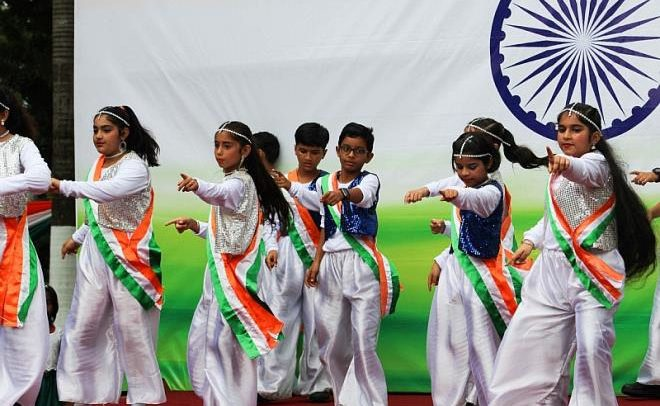 DPS International Ghana Marks India's 73rd Independence Day