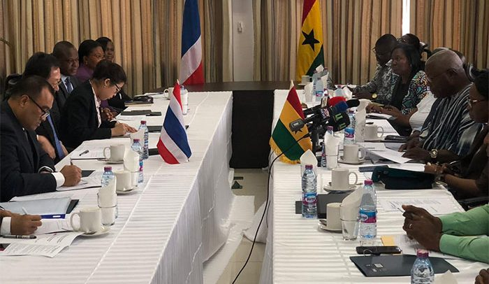 Ghana, Thailand meet over economic cooperation