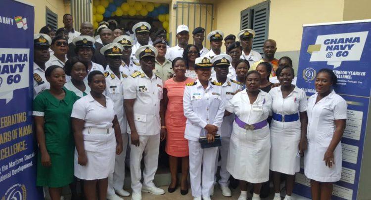 Ghana Navy Renovates Accra Psychiatric Hospital