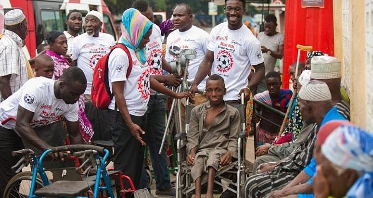 May 9 Foundation And DESO Put Smiles On People With Disabilities