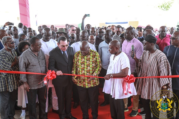President Akufo-Addo Commissions Upper West Regional Hospital