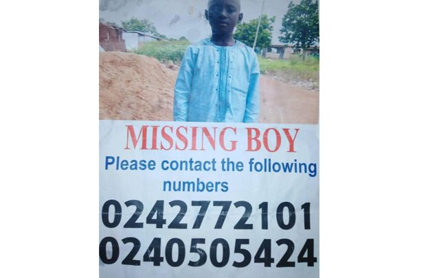 Boy, 9 Missing For 2 Months In Tamale