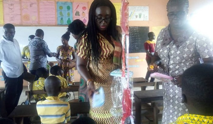 Deputy Education Minister Observes 'My First Day At School'