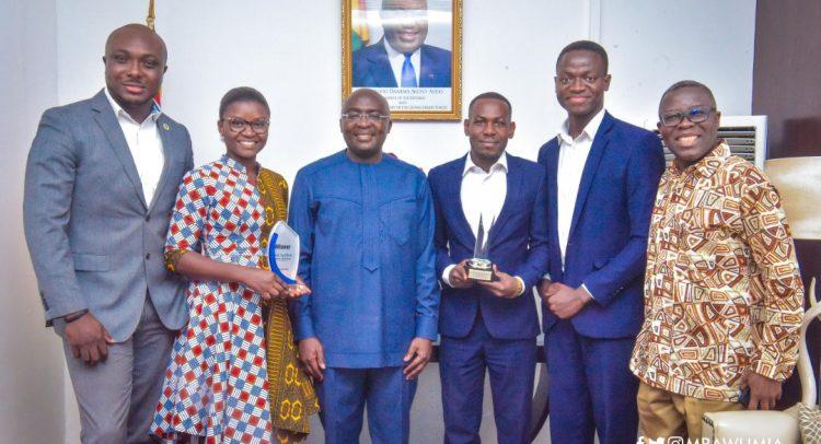 Ghanaian Tech Winners Present Awards To Bawumia