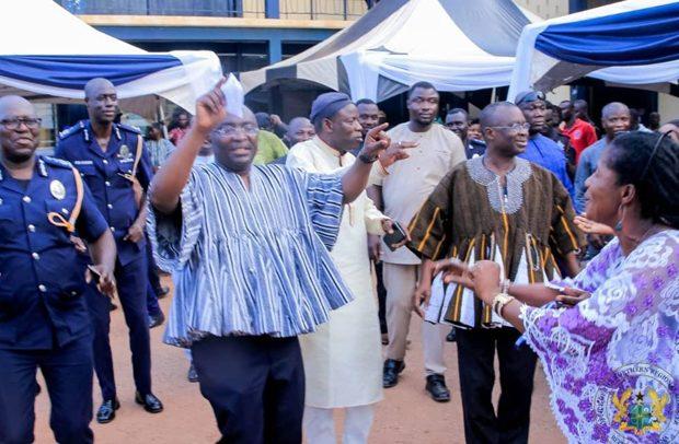 Bawumia Celebrates WASSA With N/R Police