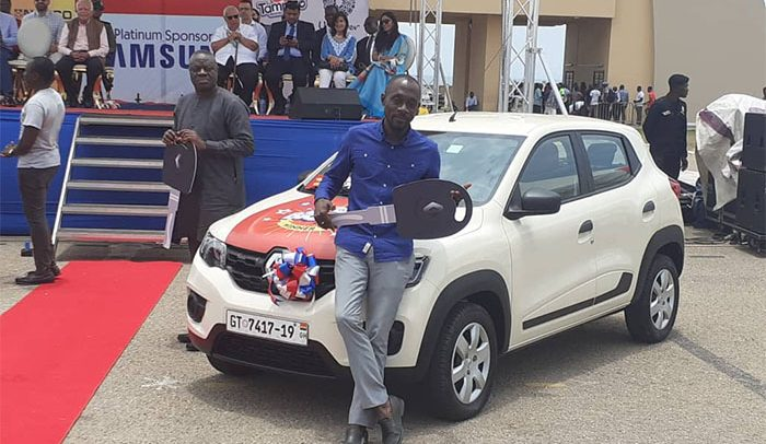 Melcom Gives Cars, Bikes To Customers On 30th Anniversary