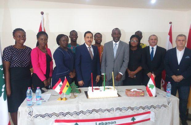 Lebanese Envoy Counsels GIJ Students