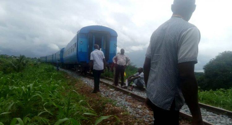 Accra-Nsawam Train Suffers Minor Derailment