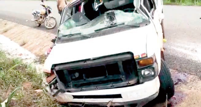 2 Die In Crash On Obuasi Road