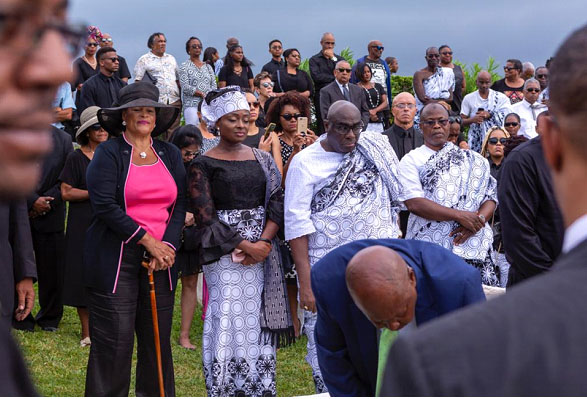 Ghana's Envoy To Bermuda Laid To Rest