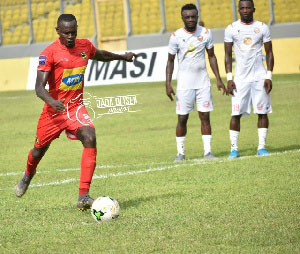 CAF Confed Cup: Injury-Time Penalty Earns Kotoko Win Against San Pedro