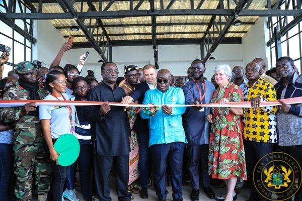 Akufo-Addo Commissions 2nd Medical Drone Distribution Centre In Mampong