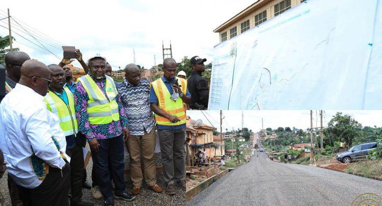 Akufo-Addo Inspects Eastern Roads