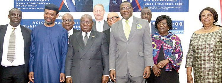 Akufo-Addo Affirms ICC Commitment