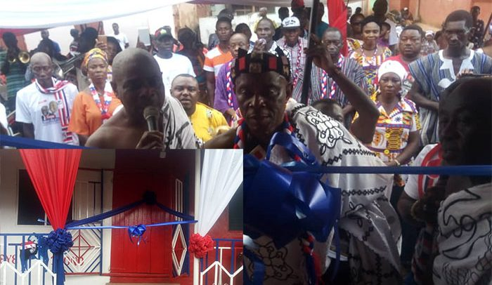 NPP Get Party Office At Akyem – Apedwa