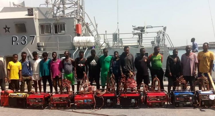 18 Fishermen Arrested For Illegal Fishing