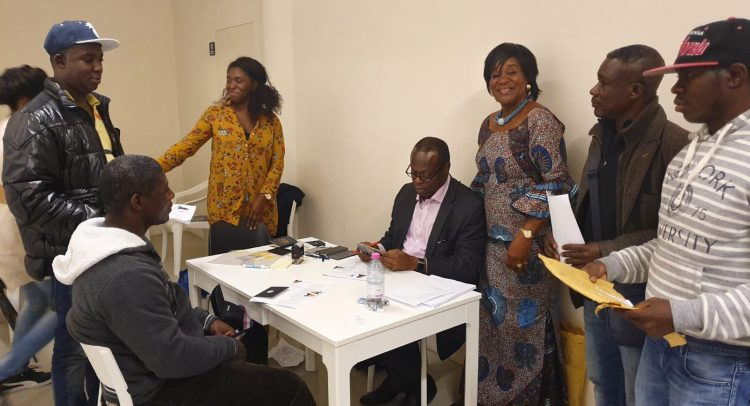 Ghana Embassy In Italy On Outreach Programme