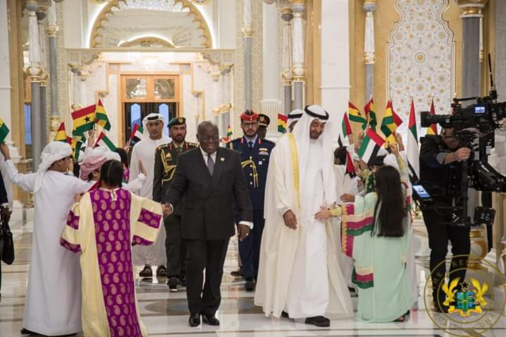 Nana Visits Abu Dhabi; 5 Agreements Signed Already 2