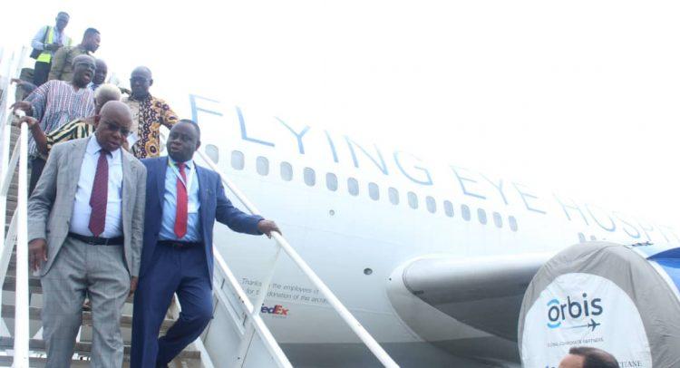 Orbis Flying Eye Hospital Begins 3rd Ghana Outreach