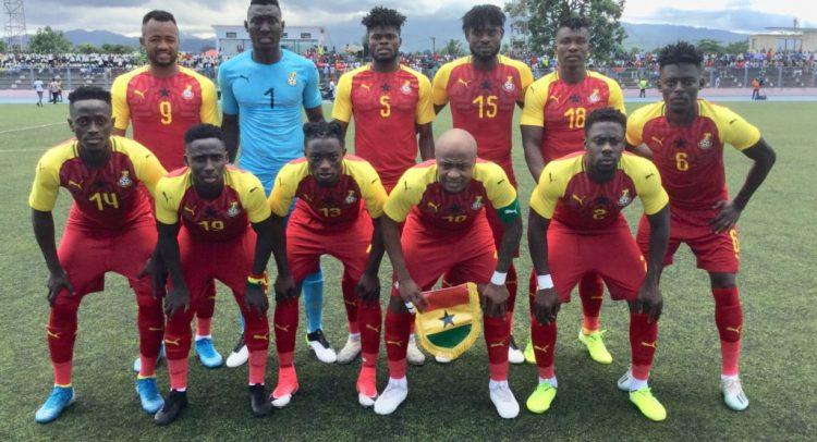 São Tomé Win Takes Stars To The Top