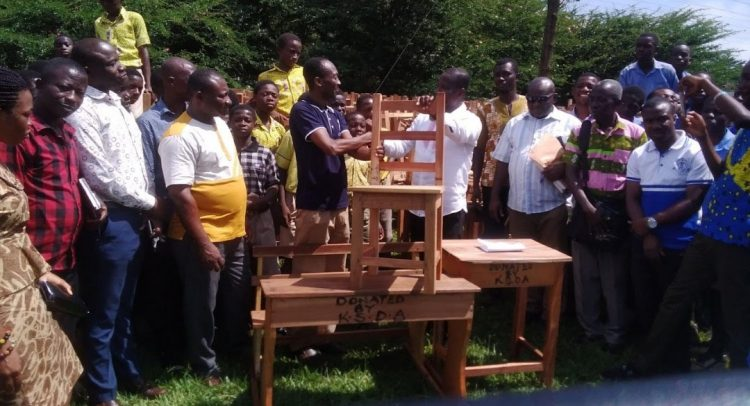 Mpreaso Assembly Donates 1,300 Desks To Schools