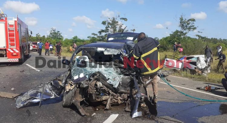 4 Dead After Vehicles Crash On Adidome-Sogakofe Road