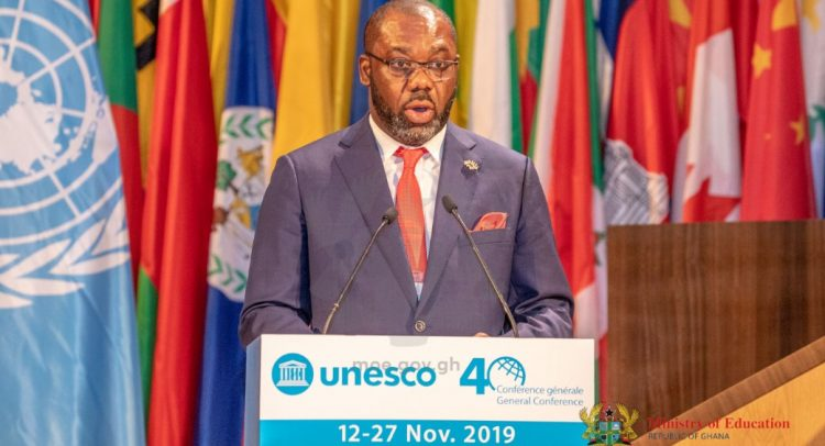 Education Minister Launches Ghana's Bid For Re-election To UNESCO Executive Council.