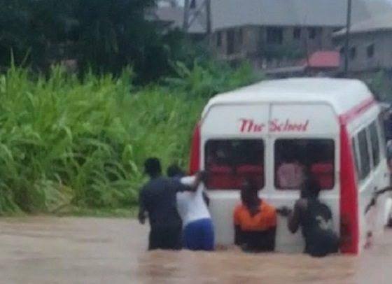 Flood Torments Kenyase Residents
