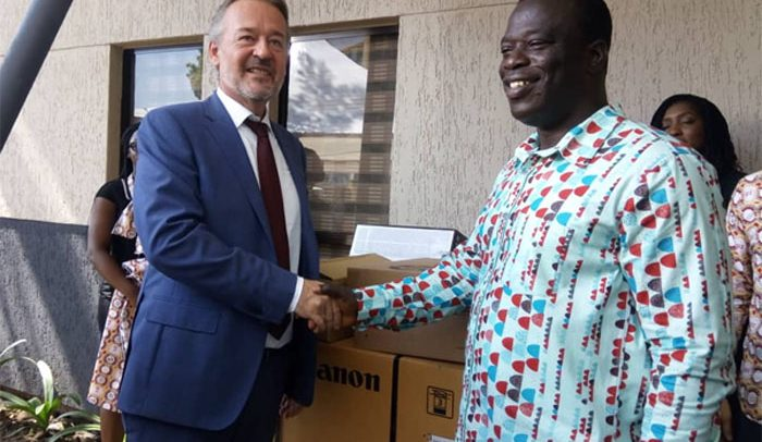 Ghanaian-German Centre Donates To Employment Ministry