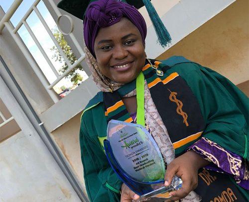 Female Medical Student Excels At UDS
