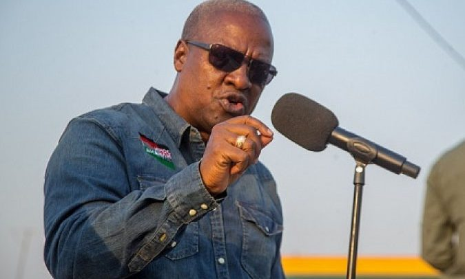 EC Thumb-Printed Over 1 million Ballot Papers For NPP- Mahama Alleges