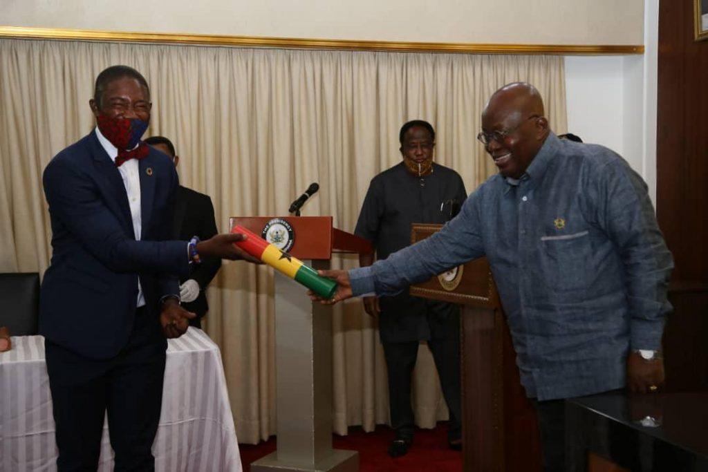 Oko Boye sworn In as deputy health minister
